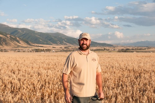 Co-owner and research baker Gluten-Free Prairie Jeremy Wheaton