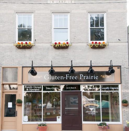 Gluten-Free Prairie's main street store in Manhattan, Montana