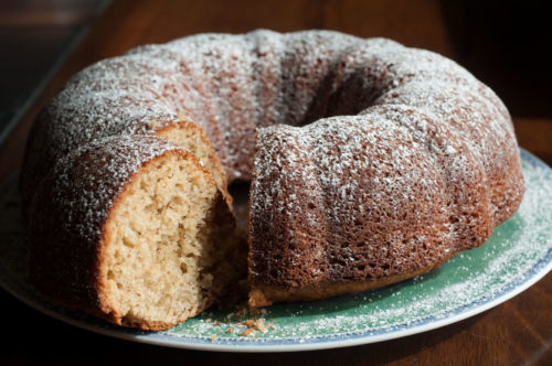 Orange Spice Pudding Cake