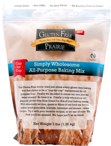 Is Baking Season here? Gluten-Free Prairie's NEW Simply Wholesome All-Purpose Baking Mix Arrives Today