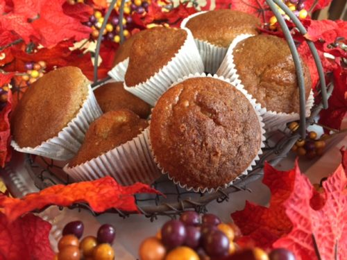 Pumpkin Spice Orange Muffins