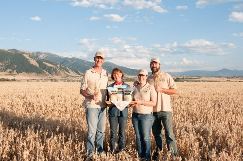 Gluten-Free Prairie Oat Harvest 2014