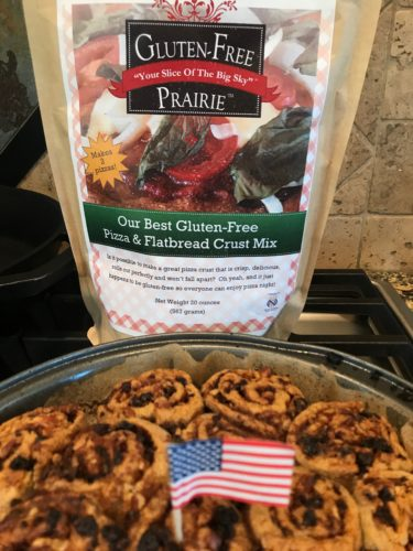 Gluten-Free Prairie So Simple Cinnamon Rolls – made with Our Pizza Dough? What?