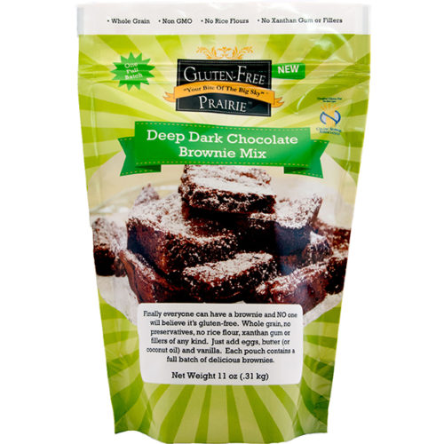 Gluten Free Prairie Deep Dark Chocolate Brownie Mix