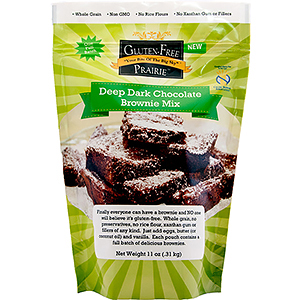 Gluten Free Prairie Deep Dark Chocolate Brownie Mix