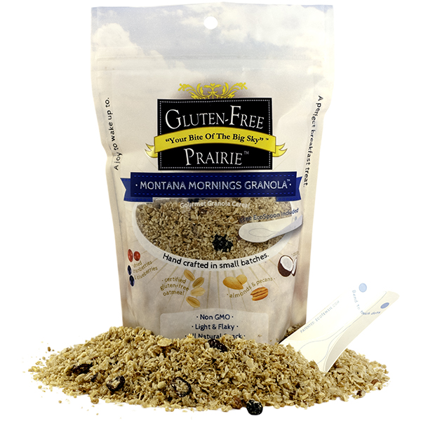 Gluten Free Prairie Montana Mornings Granola