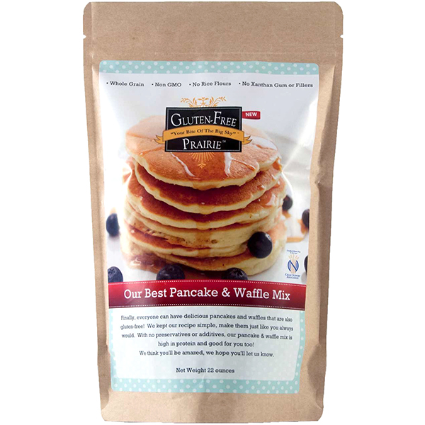 Gluten Free Prairie Our Best Pancake and Waffle Mix