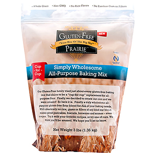 Gluten Free Prairie Simply Wholesome All Purpose Flour Blend