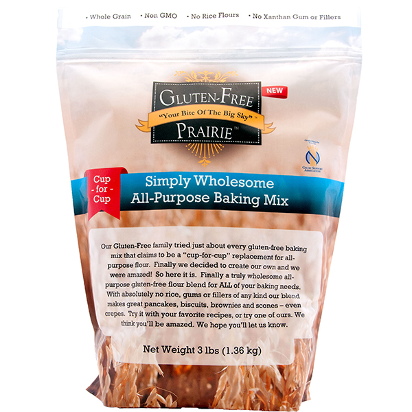Gluten Free Prairie Simply Wholesome All Purpose Flour Blend