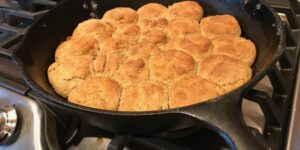 Buttery Skillet Biscuits